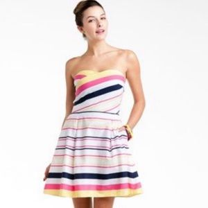 Lilly Pulitzer Striped Felicity Strapless Dress